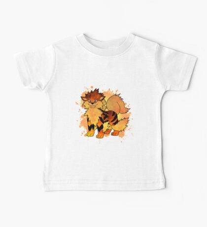 Arcanine - with background Baby Tee