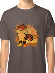 Arcanine - with background Classic T-Shirt