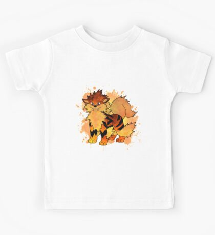 Arcanine - with background Kids Tee