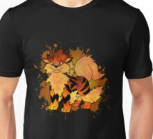 Arcanine - with background Unisex T-Shirt