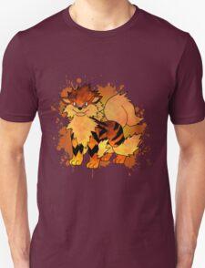 Arcanine - with background Unisex T-Shirt