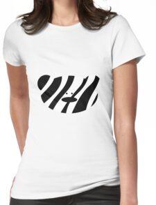 Teddy Bear Zebra Womens Fitted T-Shirt