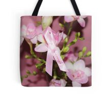 Pink for Breast Cancer Tote Bag