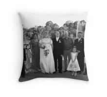 N&R1 Throw Pillow