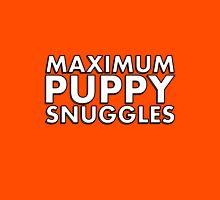 MAXIMUM PUPPY SNUGGLES Unisex T-Shirt