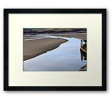 Reflective Morning Framed Print