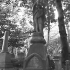 Highgate Cemetery Angel Gabriel by himmstudios