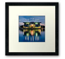 Lisbon Oceanarium Framed Print