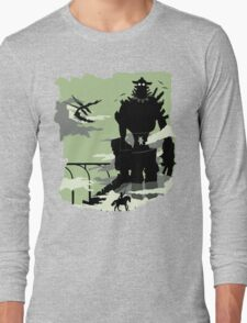 Silhouette of the Colossus Long Sleeve T-Shirt