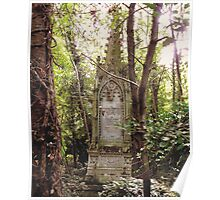 Highgate Cemetery Mears Memorial Poster
