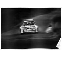 Austin Metro 6R4 Rally Car Poster