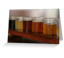 James Squire beer sampler Greeting Card