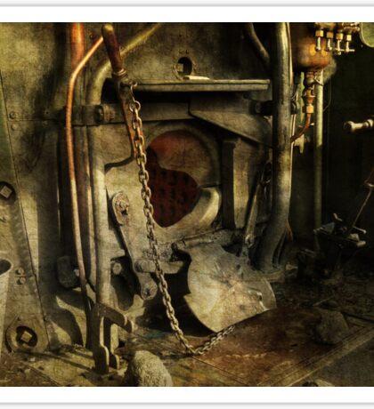 Steam Engine Furnace Sticker