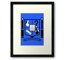 Doctor Who Fan Crest Framed Print