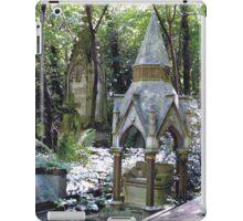 Highgate Cemetery Scene 1 iPad Case/Skin