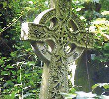 Highgate Cemetery Celtic Cross by himmstudios