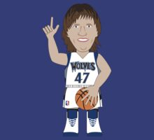 NBAToon of Andrei Kirlienko, player of Minnesota  Timberwolves by D4RK0
