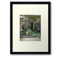 Highgate Cemetery Stairway to Heaven Framed Print