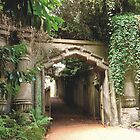 Highgate Cemetery Egyptian Gateway by himmstudios
