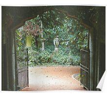 Highgate Cemetery Egyptian Avenue Poster