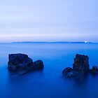 Ballycastle & Rathlin Island , Northern Ireland by Zdrojewski