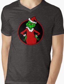 The Grinch Mens V-Neck T-Shirt