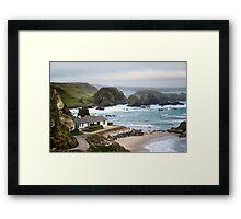 Ballintoy Harbour , County Antrim , Northern Ireland Framed Print