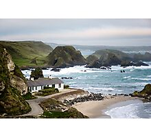 Ballintoy Harbour , County Antrim , Northern Ireland Photographic Print