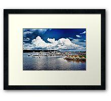 Belfast, Maine Framed Print
