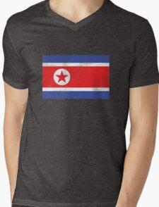 DPRK  Mens V-Neck T-Shirt