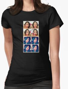 Confident Demi Lovato Womens Fitted T-Shirt
