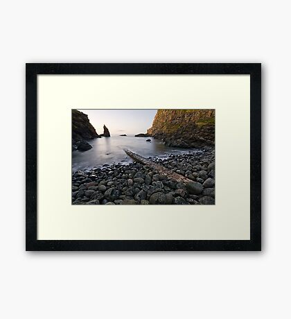 Portcoon, County Antrim, Northern Ireland Framed Print