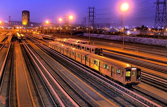 MetroLink Yard - Los Angeles by Stephen Burke