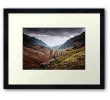 Pen-y-Pass Framed Print