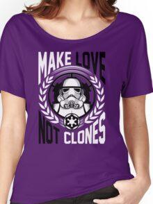 Make Love Not Clones Women's Relaxed Fit T-Shirt