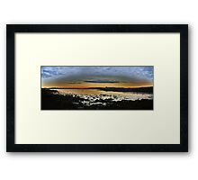 Bay of Tranquility - Low Tide Framed Print