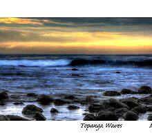 Topanga Waves by MjhArt