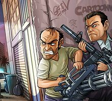 GTA 5 artwork by Aiden93