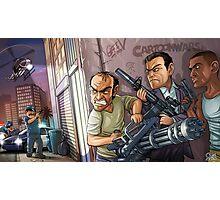 GTA 5 artwork Photographic Print