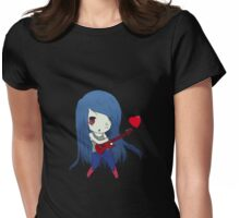 Marceline chibi Womens Fitted T-Shirt