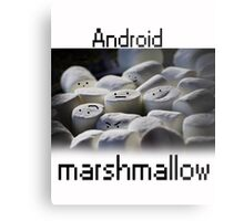 Android Marshmallow Metal Print