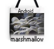 Android Marshmallow Tote Bag