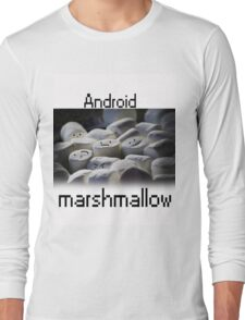 Android Marshmallow Long Sleeve T-Shirt