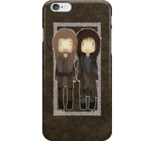 "Cute Fili and Kili / ""The Hobbit"" iPhone Case/Skin"