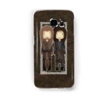 "Cute Fili and Kili / ""The Hobbit"" Samsung Galaxy Case/Skin"