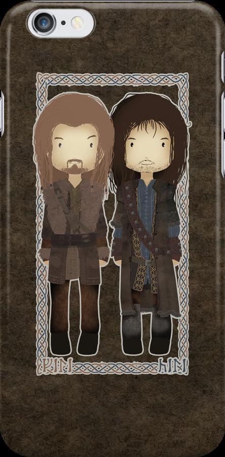 "Cute Fili and Kili / ""The Hobbit"" by koroa"
