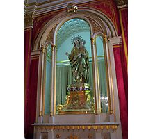 Our Lady of The Rosary Photographic Print