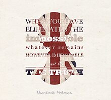 Sherlock Holmes quote by koroa