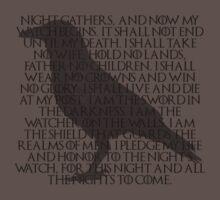 Night Watch's Oath by iamatree