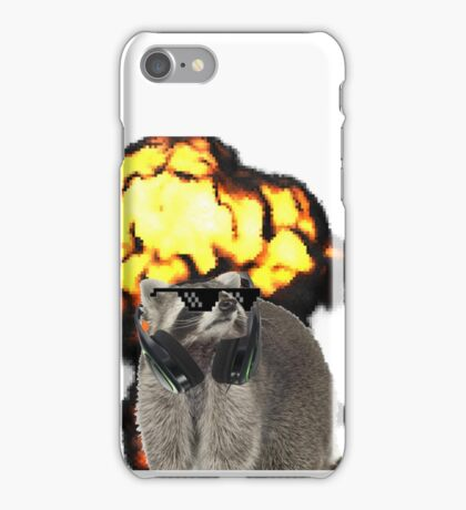 Funny Raccoon iPhone Case iPhone Case/Skin